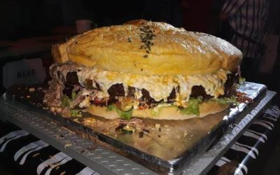 Cape Town Restaurant Set To Break The Record For Biggest Burger In The World